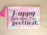 girly-diy-stenciled-watercolor-makeup-pouch-1