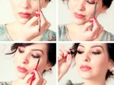 glam-diy-sparkly-brown-and-black-smokey-makeup-for-a-christmas-party-3