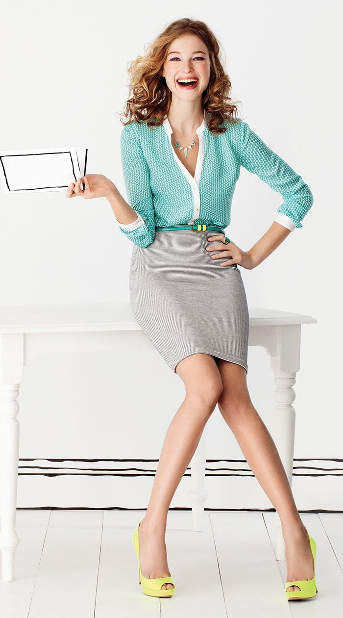 Picture Of gorgeous and girlish pencil skirt outfits for work  20
