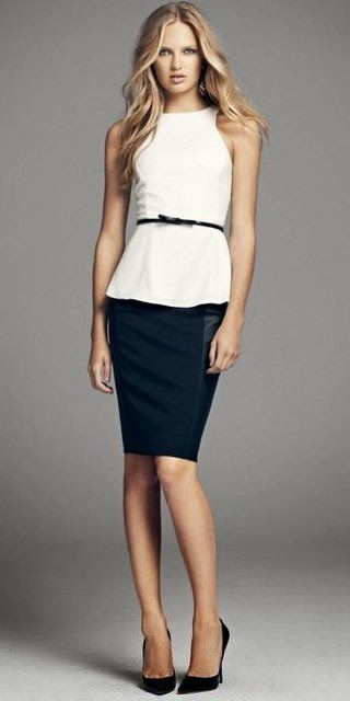Picture Of gorgeous and girlish pencil skirt outfits for work  7