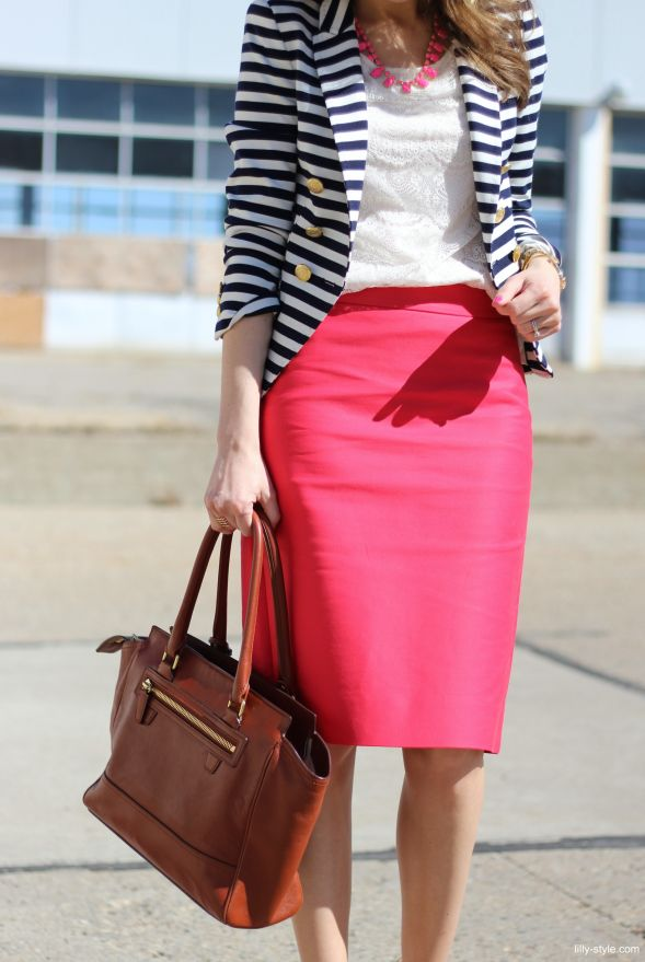 Picture Of gorgeous and girlish pencil skirt outfits for work  8