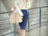 gorgeous-and-girlish-pencil-skirt-outfits-for-work-9