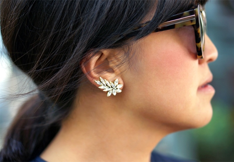 Picture Of gorgeous diy ear cuff with swarovski rhinestones  10