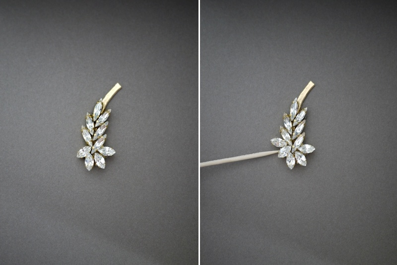 Picture Of gorgeous diy ear cuff with swarovski rhinestones  7