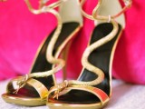 gorgeous-diy-gold-snake-sandals-inspired-by-guiseppe-zanotti-2