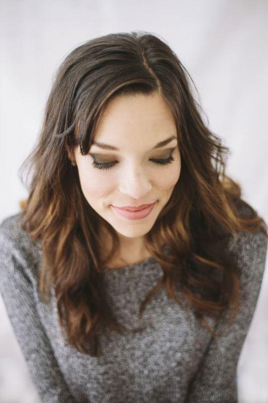 Picture Of gorgeous diy oscar esque metallic eye makeup  1