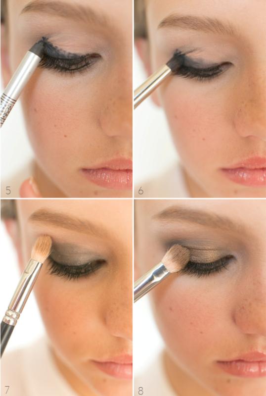 Picture Of gorgeous diy smoldering smokey eye makeup  3