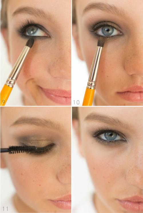Gorgeous DIY Smoldering Smokey Eye Makeup
