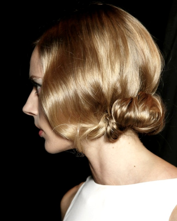 Picture Of hairstyle trends from ss 2014 new york fashion week  1