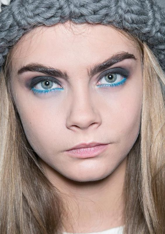 Picture Of hot 2014 trend 12 ideas to rock aqua blue eyeliner  9