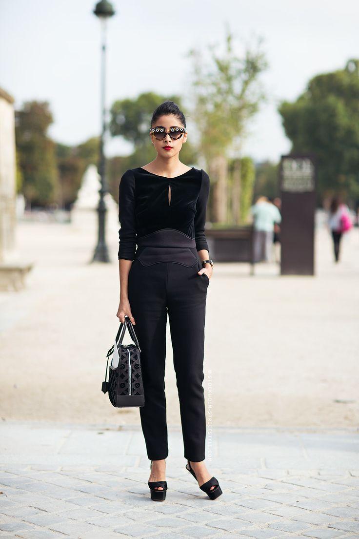 Hot Total Black Looks For Office 13 Styleoholic