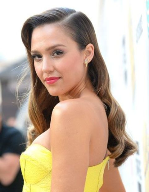Picture Of how to amek jessica albas vintage waves  3