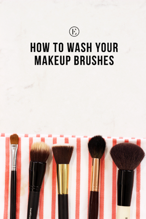 How To Clean Your Makeup Brushes Well