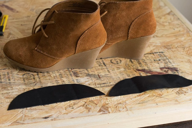 Picture Of how to easily restyle a pair of wedges  4