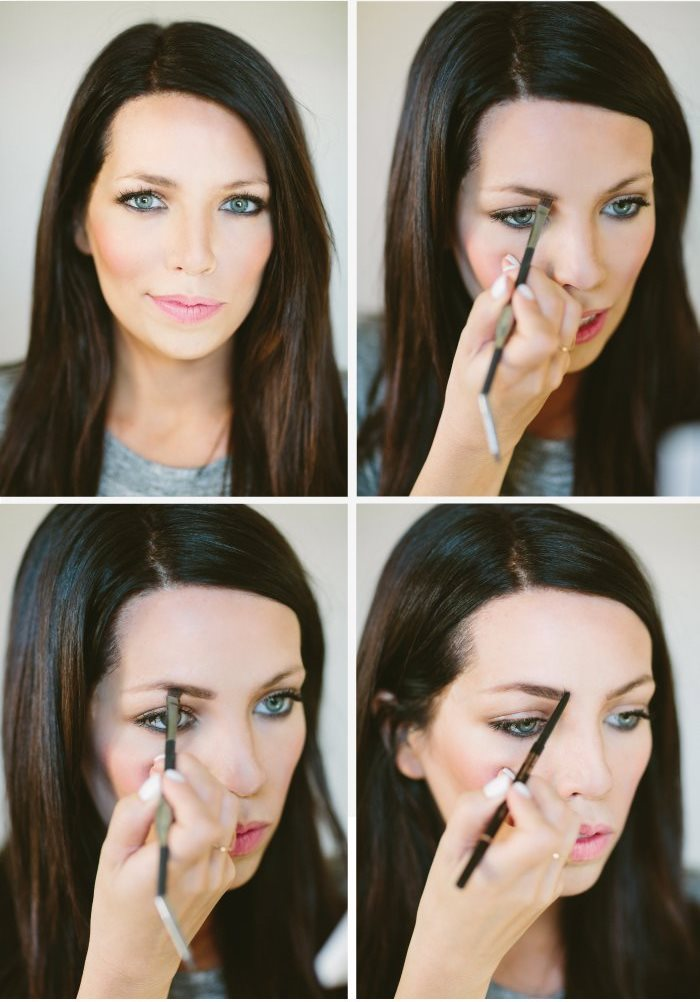 Picture Of how to fill your brows to look hairy  2