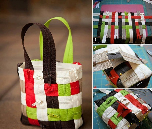 Picture Of how to make a wonderful zipper bag  5