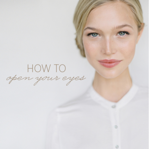 How To Open Your Eyes: Fresh DIY Makeup For Every Day