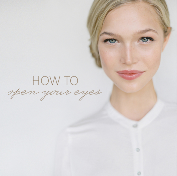 Picture Of how to open your eyes diy fresh makeup for everyday  1