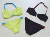 colorful elastic bikini