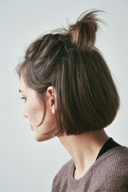 Picture Of how to rock a perfect half top knot hairstyle 21 cool ideas  11