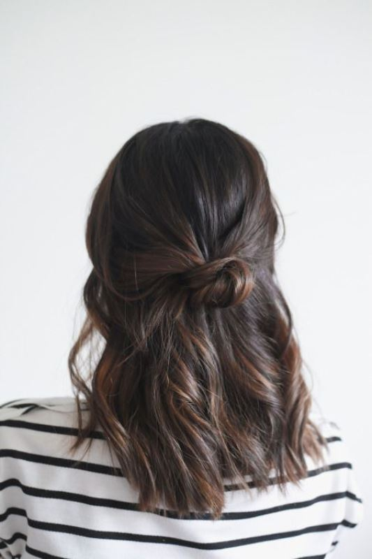 Picture Of how to rock a perfect half top knot hairstyle 21 cool ideas  17