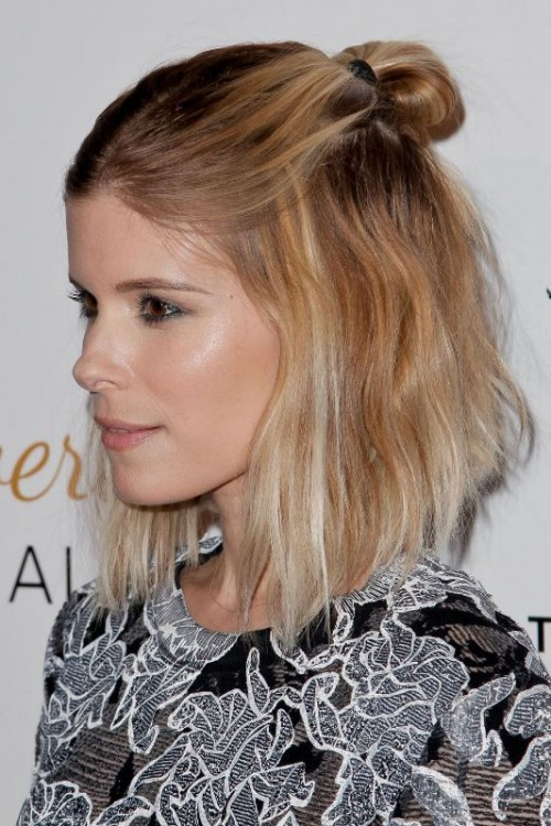 How To Rock A Perfect Half Top Knot Hairstyle: 21 Cool Ideas