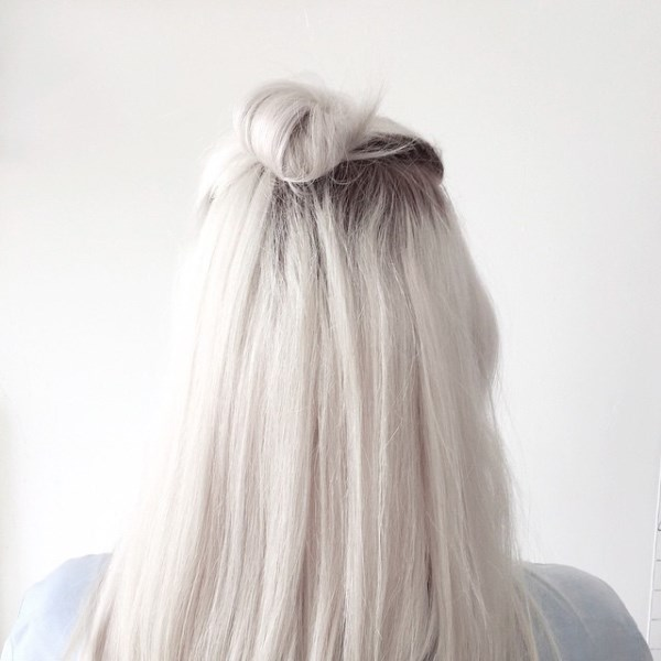Picture Of how to rock a perfect half top knot hairstyle 21 cool ideas  20