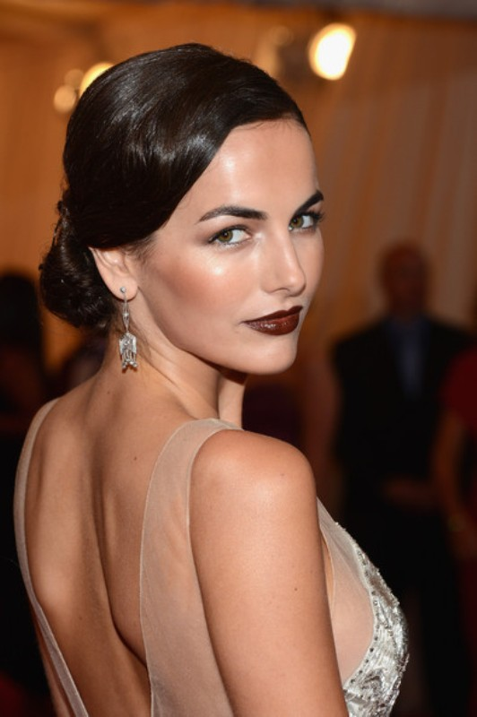 Picture Of how to rock dark lips 15 best examples from celebrities  11