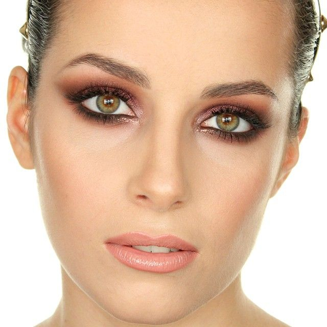 picture of how to rock marsala makeup examples 14