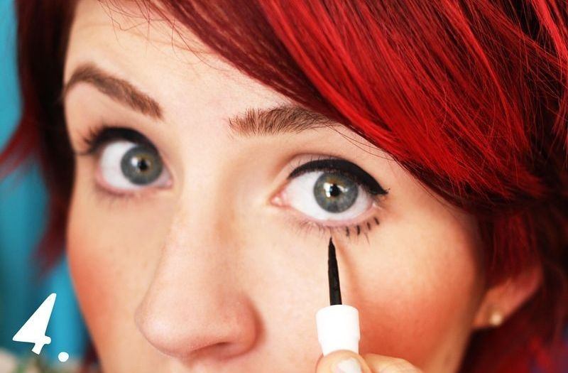 Picture Of how to style twiggy makeup  5