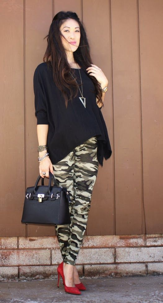Picture Of how to wear camo to work  15