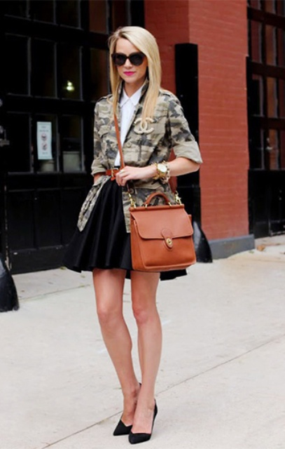 How To Wear Camo To Work: 17 Ideas