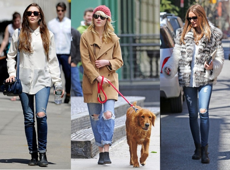 Picture Of how to wear distressed denim 21 stylish ideas  11