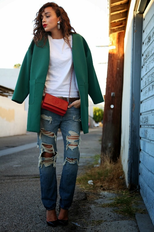 Picture Of how to wear distressed denim 21 stylish ideas  2