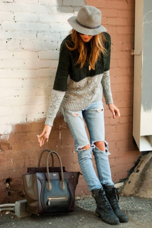 Picture Of how to wear distressed denim 21 stylish ideas  6