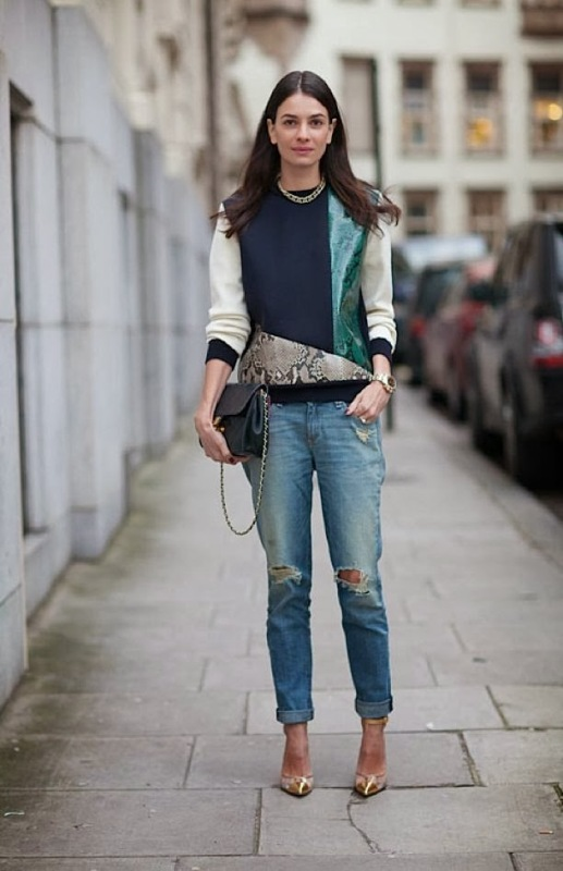 Picture Of how to wear distressed denim 21 stylish ideas  8