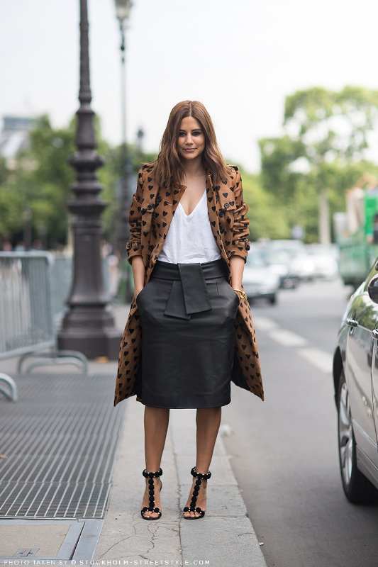Picture Of how to wear leather skirt 23 great looks to get inspired  14