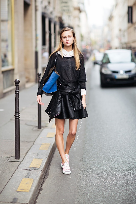 Picture Of how to wear leather skirt 23 great looks to get inspired  16