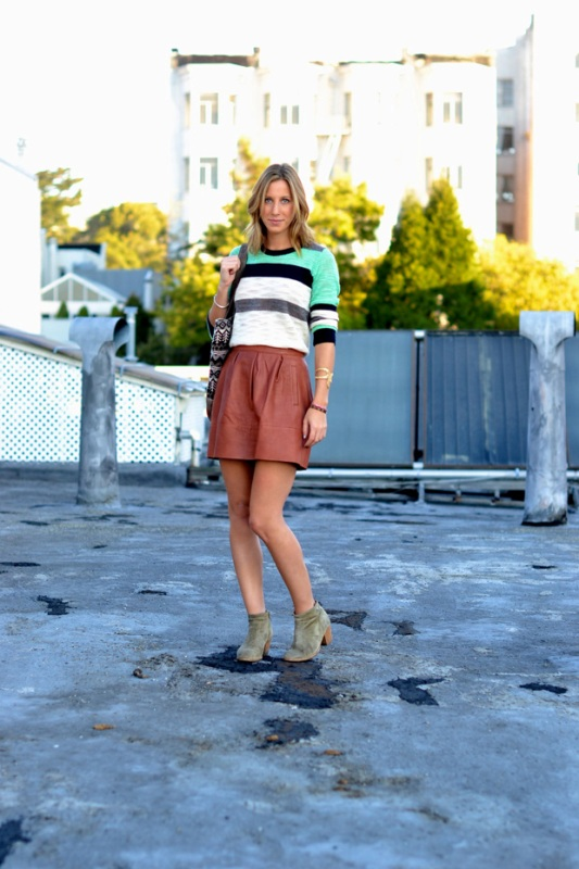 Picture Of how to wear leather skirt 23 great looks to get inspired  22