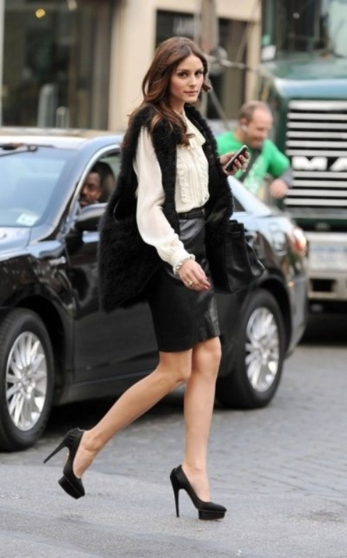 Picture Of how to wear leather skirt 23 great looks to get inspired  6