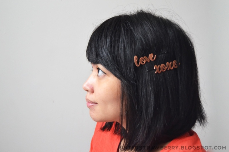 Picture Of impossibly cute diy word bobby pins to make  2
