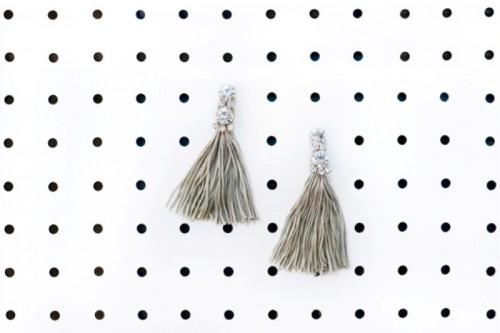 Incredible And Easy DIY Tassel Earrings