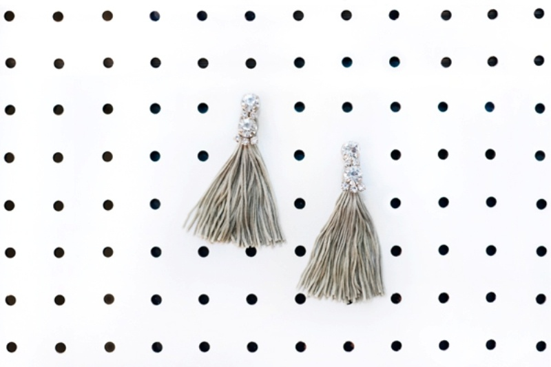Picture Of incredible and easy diy tassel earrings  1