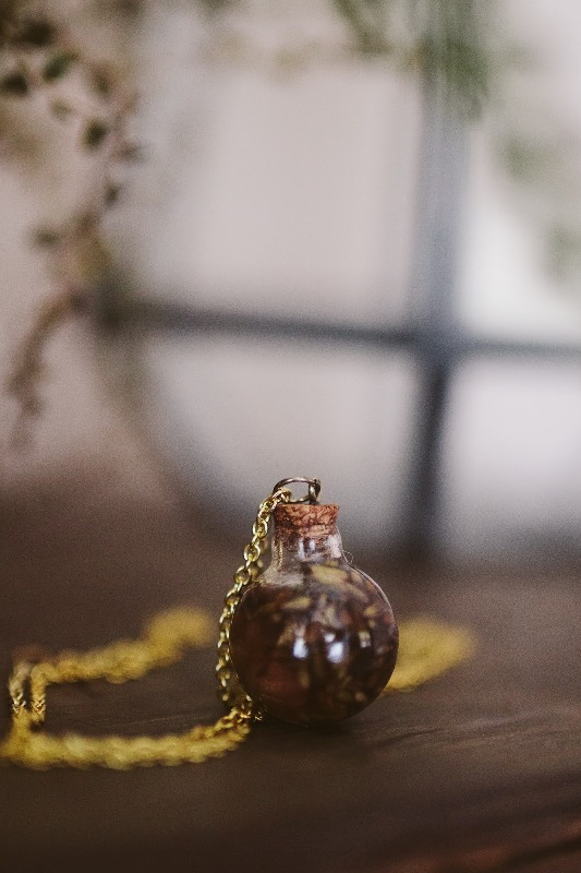 Picture Of incredible diy lavender oil necklace  2