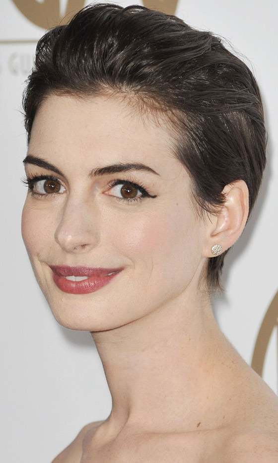 Picture Of inspiring celebrities short hairstyles  2