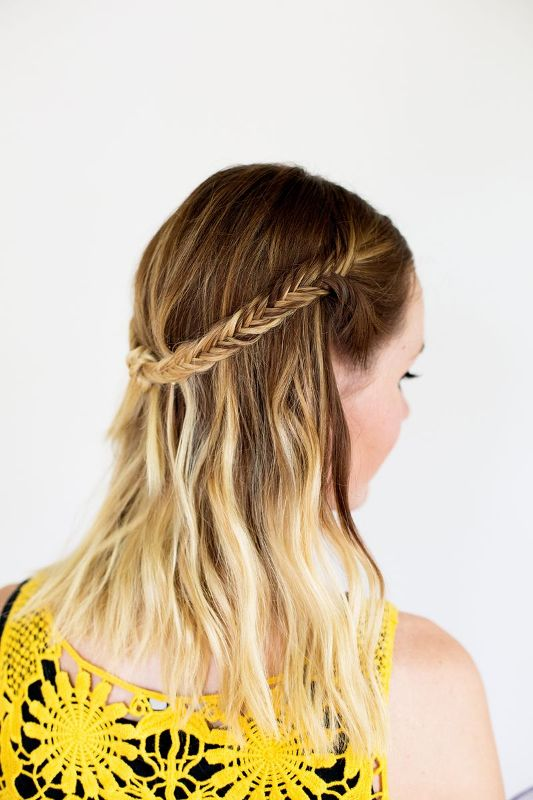 Picture Of lovely diy bohemian knot braid  2