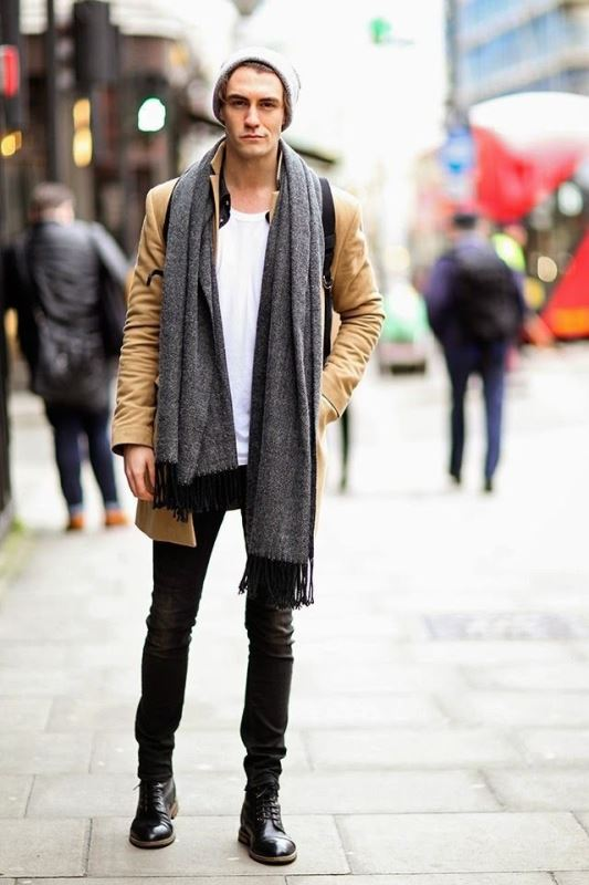 Picture Of men scarves inspiration 19 stylish fall looks to recreate  12
