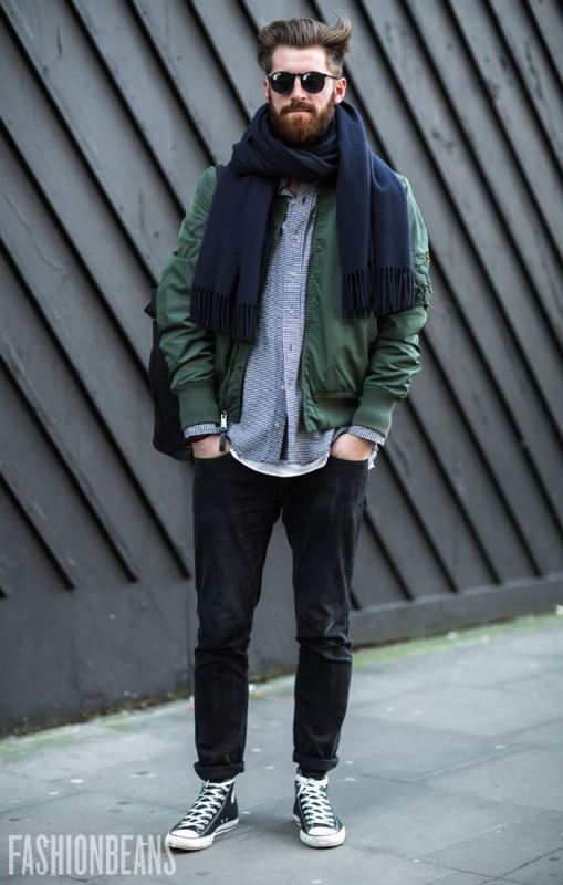 Picture Of Men Scarves Inspiration 19 Stylish Fall Looks To Recreate 15