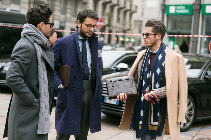 Picture Of men scarves inspiration 19 stylish fall looks to recreate  16