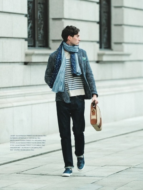 Picture Of men scarves inspiration 19 stylish fall looks to recreate  18